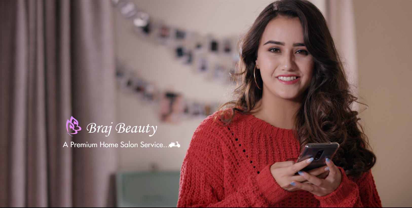 Braj Beauty online home salon service